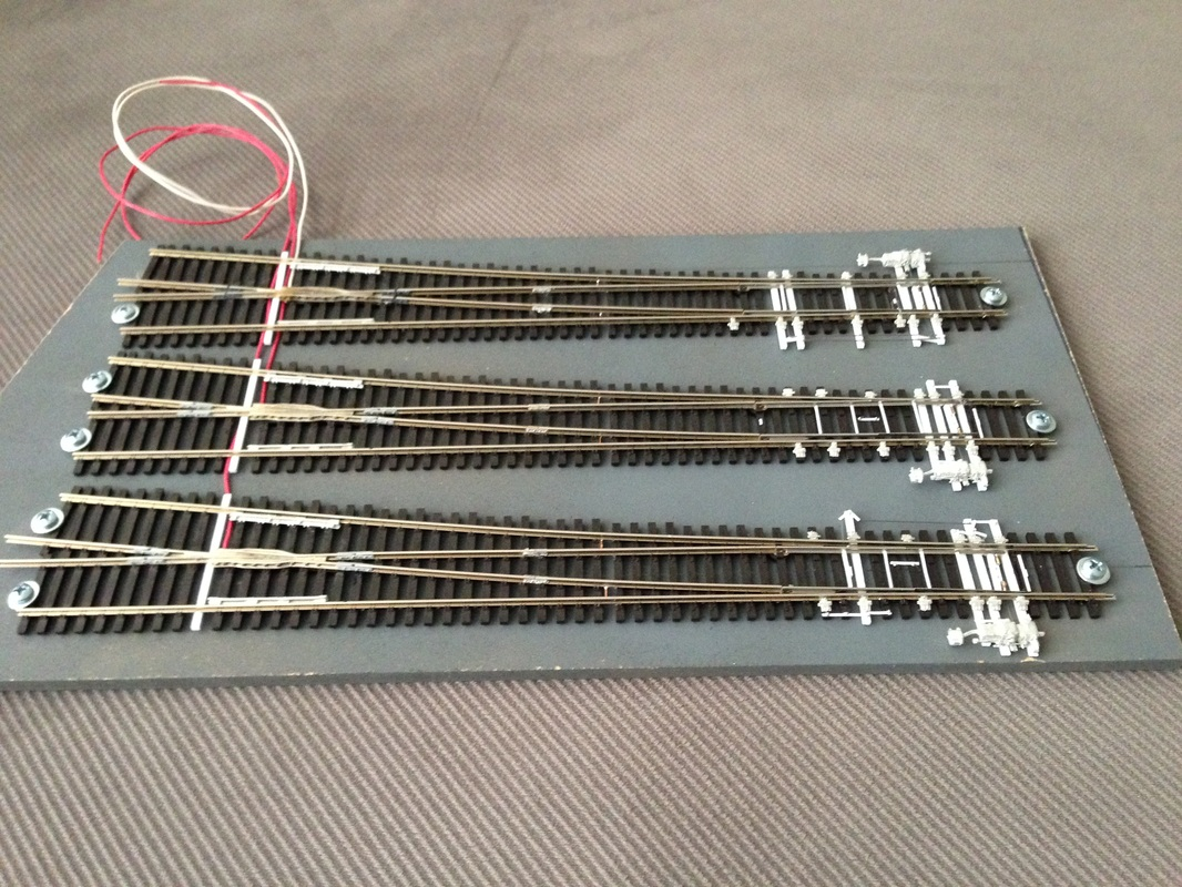 Detailing turnouts for an HO scale train layout Haworth